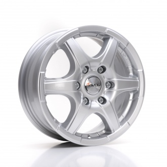GRIZZLY 7x17 - 5x130 - ET.60 CB.89.1 - HYPER SILVER